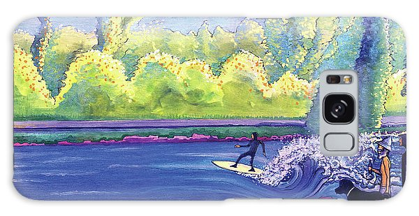 Surf Colorado Galaxy Case