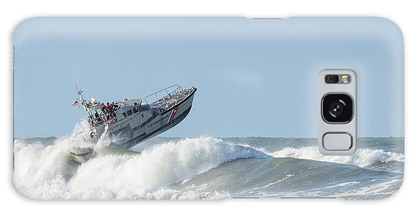 Surf Rescue Boat V2 Galaxy Case