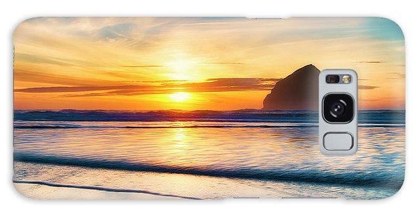 Surf Sunset Galaxy Case
