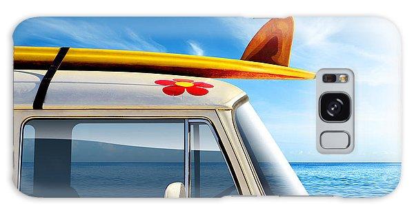 Motion Galaxy Case - Surf Van by Carlos Caetano