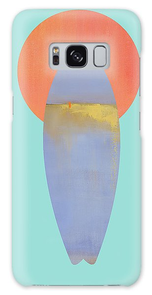 Board Galaxy Case - Surfboard Art Print by Jacquie Gouveia