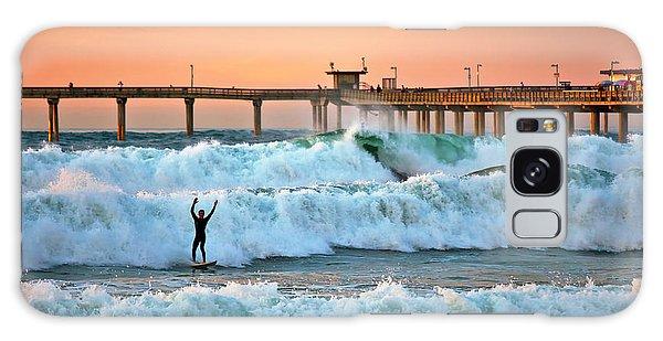 Surfer Celebration Galaxy Case