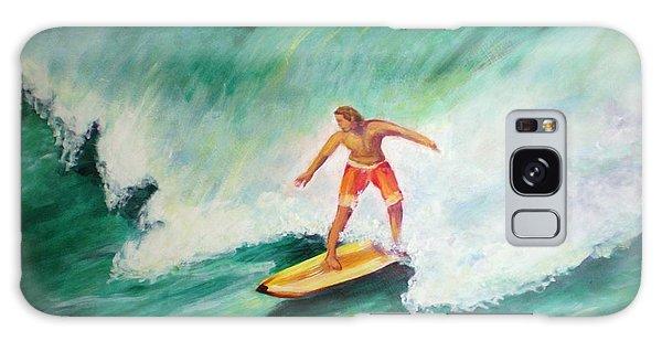 Surfer Dude Galaxy Case