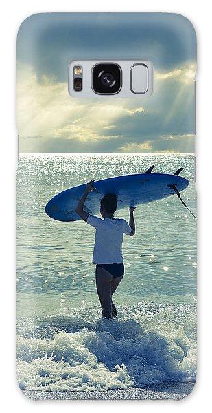 Beaches Galaxy Case - Surfer Girl by Laura Fasulo