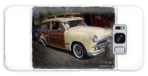 Surfer Wood Panel Car Galaxy Case