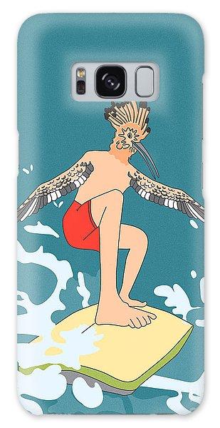 Surferbird Galaxy Case