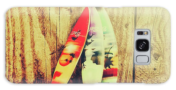 Decorative Galaxy Case - Surfing Still Life Artwork by Jorgo Photography - Wall Art Gallery