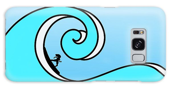 Surfing The Wave Galaxy Case