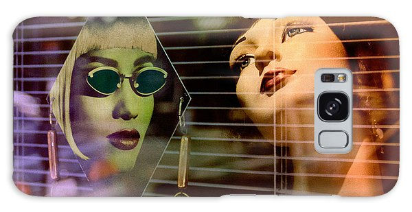 surreal mannequins photographs - Get Real Galaxy Case