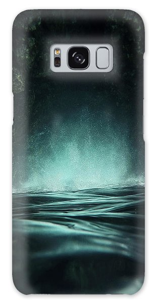 Splash Galaxy Case - Surreal Sea by Nicklas Gustafsson