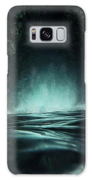 Splash Galaxy Case - Surreal Sea by Nicklas Gustafsson