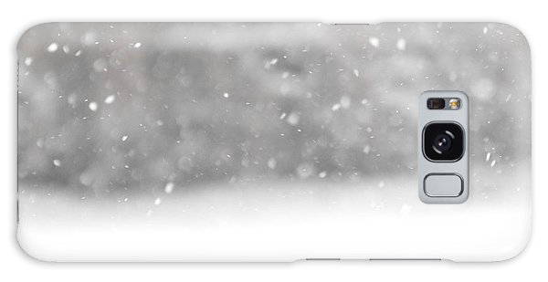 Surreal Snowdrops Galaxy Case