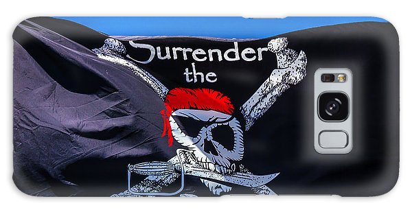 Sly Galaxy Case - Surrenderthe Booty Flag by Garry Gay