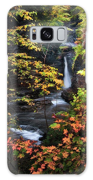 Surrounded By Fall Galaxy Case by Neil Shapiro