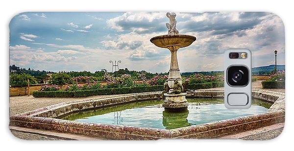 The Monkeys Fountain At The Gardens Of The Knight In Florence, Italy Galaxy Case