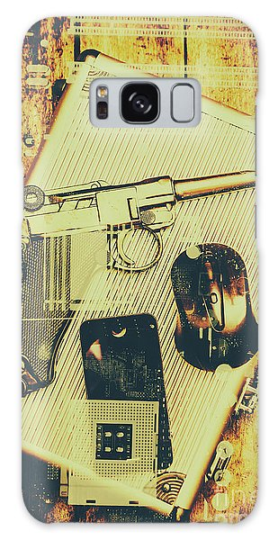 Technology Galaxy Case - Surveillance State by Jorgo Photography - Wall Art Gallery