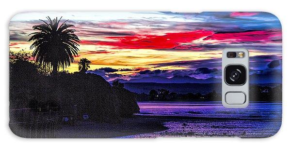 Suset Beach Galaxy Case by Rick Bragan