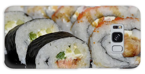 Sushi Rolls From Home Galaxy Case