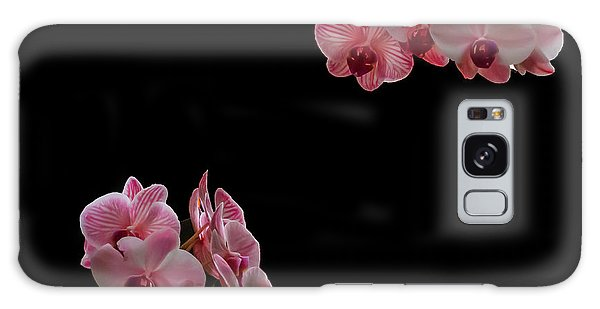 Suspended Orchids Galaxy Case