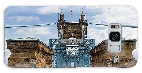 Suspension Bridge Wide Angel Galaxy Case by Scott Meyer