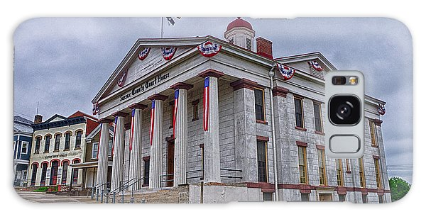 Sussex County Courthouse Galaxy Case by Mark Miller