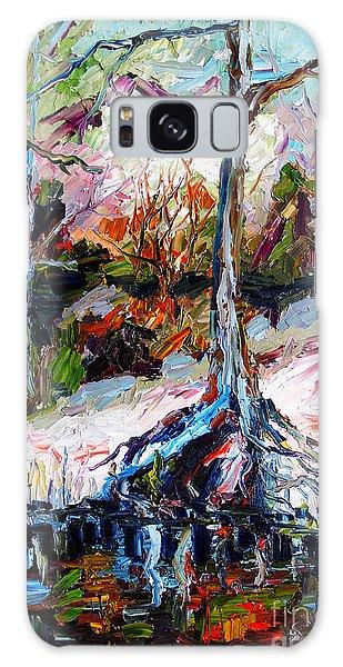 Suwanee River Black Waters Modern Art Galaxy Case