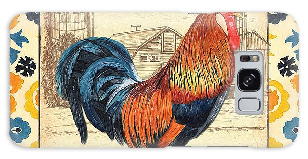 Suzani Rooster 2 Galaxy Case