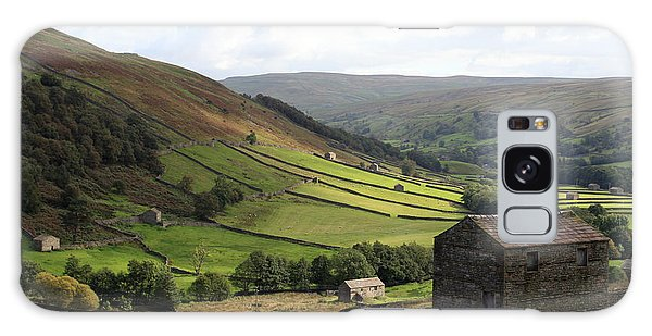 Swaledale  Yorkshire Dales Galaxy Case by Paula Guttilla