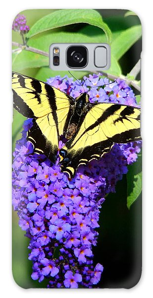 Swallow Tail Butterfly Galaxy Case by Lisa Rose Musselwhite