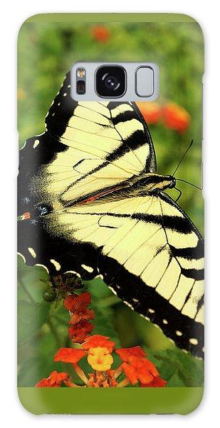Swallowtail Among Lantana Galaxy Case