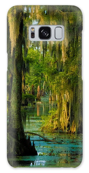 Swamp Curtains In May Galaxy Case