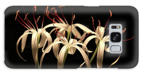 Swamp Lily Galaxy Case by Meg Rousher