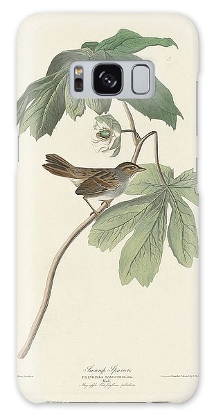 Swamp Sparrow Galaxy Case