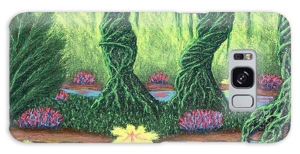 Swamp Things 02, Diptych Panel A Galaxy Case