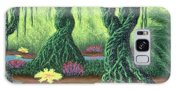 Swamp Things 02, Diptych Panel B Galaxy Case