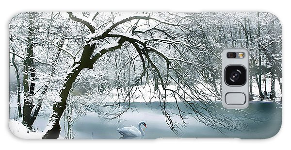 Swan A Swimming Galaxy Case