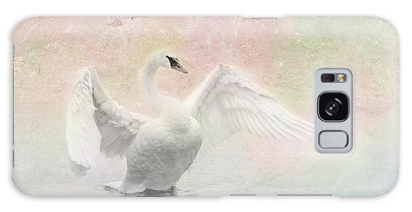 Swan Dream - Display Spring Pastel Colors Galaxy Case