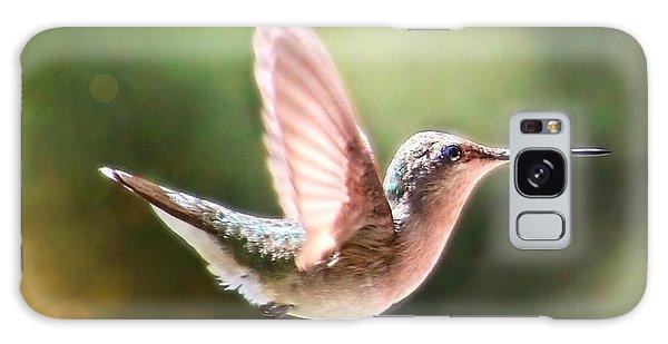 Swan Dive Hummingbird Galaxy Case