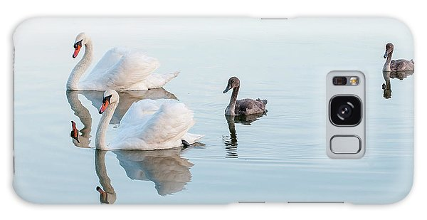 Swan Family Galaxy Case