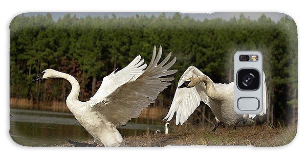 Swan Fight Galaxy Case