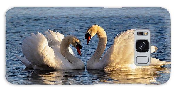 Swan Heart Galaxy Case