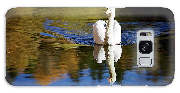 Swan In Color Galaxy Case