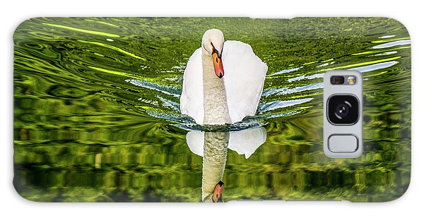 Swan Lake Nature Photo 892 Galaxy Case