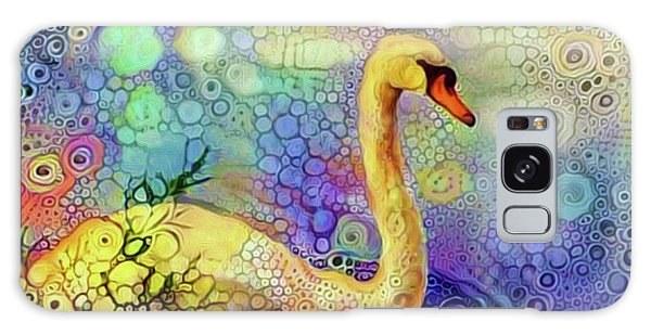 Swan Spectacular Oil Galaxy Case