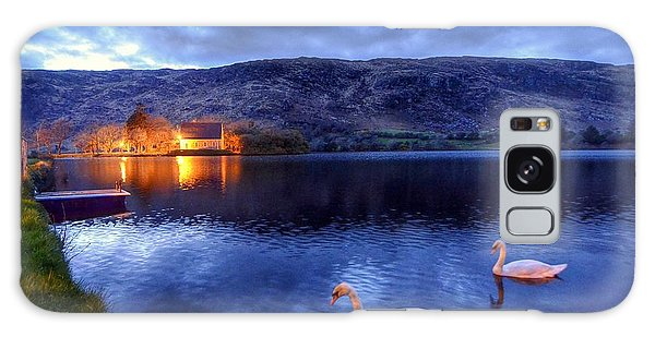 Swans At Gougane Barra Galaxy Case