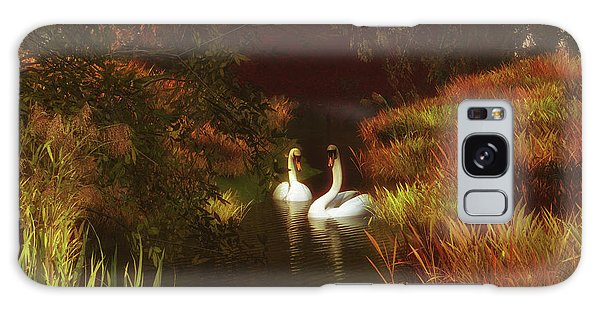 Swans In The Forest Galaxy Case