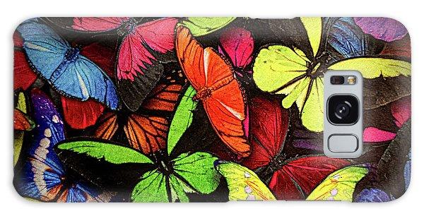 Swarm Of Butterfles  Galaxy Case