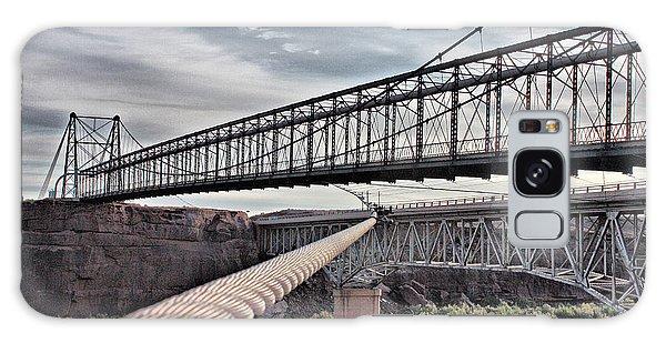 Swayback Suspension Bridge Galaxy Case