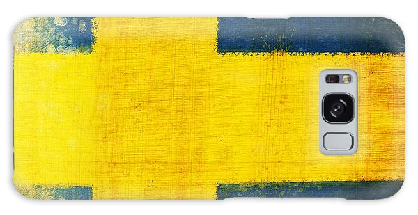 Patriotic Galaxy Case - Swedish Flag by Setsiri Silapasuwanchai