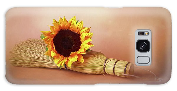 Helianthus Annuus Galaxy Case - Sweet And Simple by Tom Mc Nemar